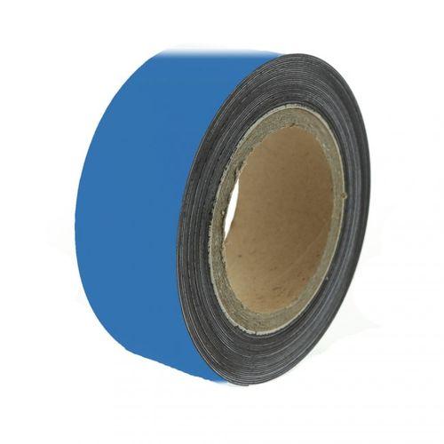 Magnetická páska 10 m, modrá matná