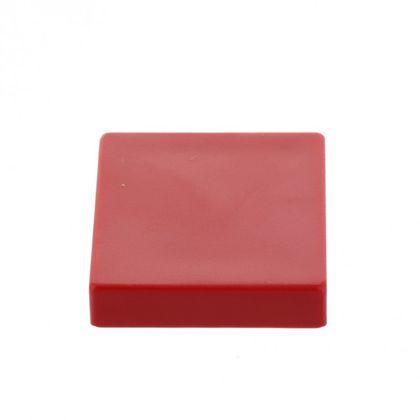 Extrémne silný kancelársky magnet, hranatý, červený