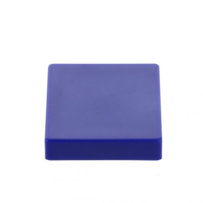 Extrémne silný kancelársky magnet, hranatý, modrý