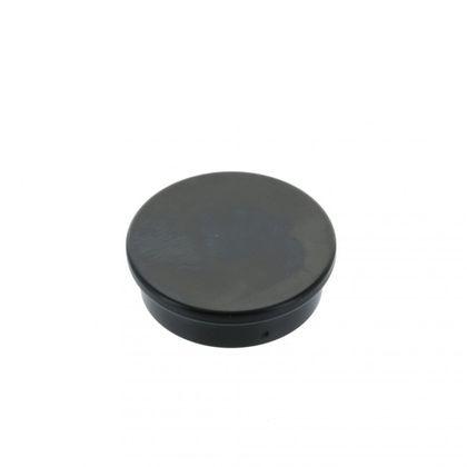 Extrémne silný kancelársky magnet, okrúhly, čierny