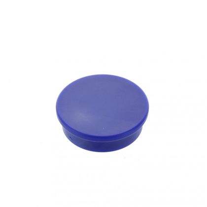 Extrémne silný kancelársky magnet, okrúhly, modrý