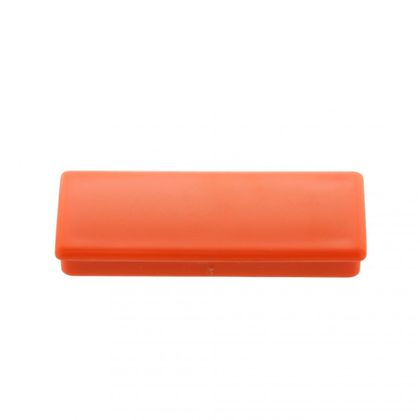 Kancelársky magnet, ferit, hranatý, oranžový