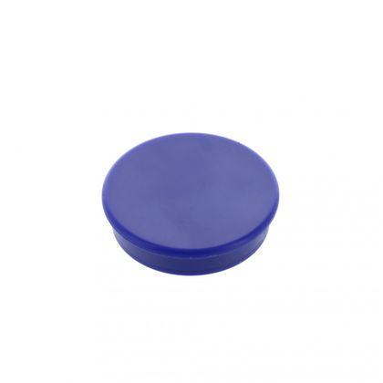 Kancelársky magnet, ferit, okrúhly, modrý