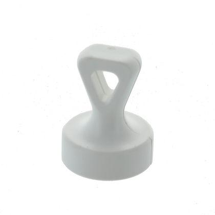 Kancelársky magnet s rúčkou, s okom, biely