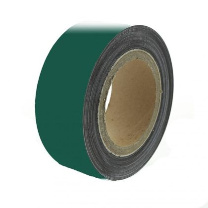 Magnetická páska 10 m, zelená matná