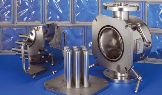 Magnetické filtre EHEDG, s dvojitým dnom