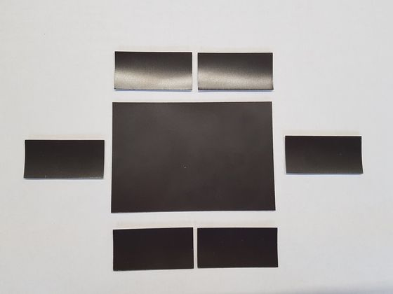 Magnetické štítky, hnedé