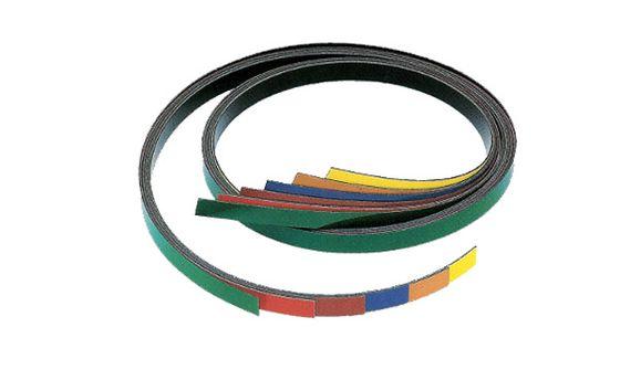 Magnetický pás 1 m, biely lesklý (flipchart povrch)