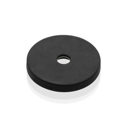 Magnetický prvok NdFeB s gumovým obalom a stredovou dierou
