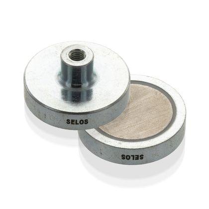 Magnetický prvok plochý so závitovým púzdrom, SmCo5