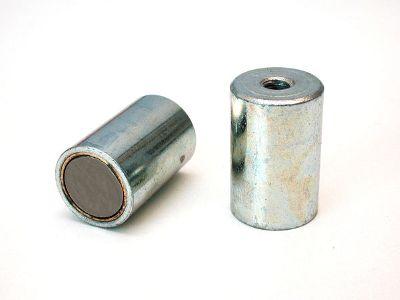 Magnetický prvok valcový bez tolerancie s vnútorným závitom, SmCo5