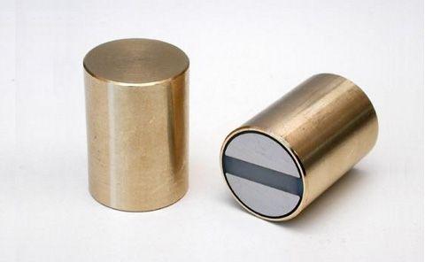 Magnetický prvok valcový s toleranciou h6, Sm2Co17, HT